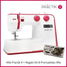 Practik 9 + Regalo Kit 8 Prensatelas
