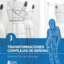 Sistema EDA, Patronaje Señora 3: Transformaciones Complejas (Libro Digital PDF)