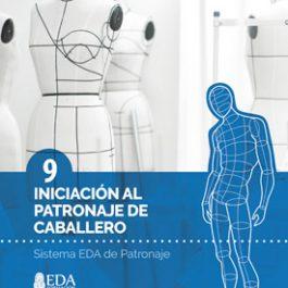 Sistema EDA, Patronaje Caballero 9: Iniciación (Libro Digital PDF)
