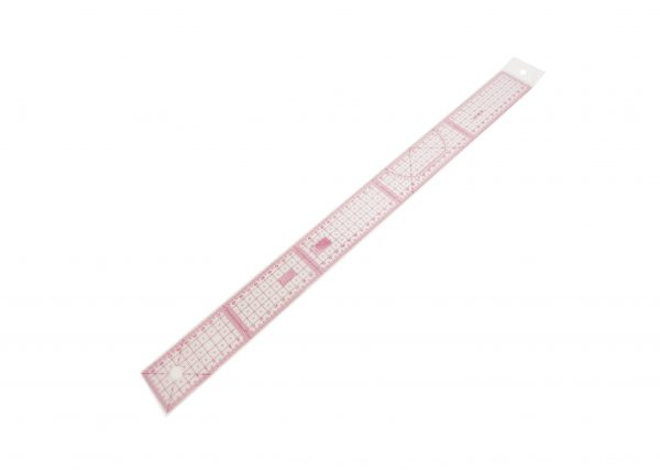 regla recta 60cm patchwok y costura
